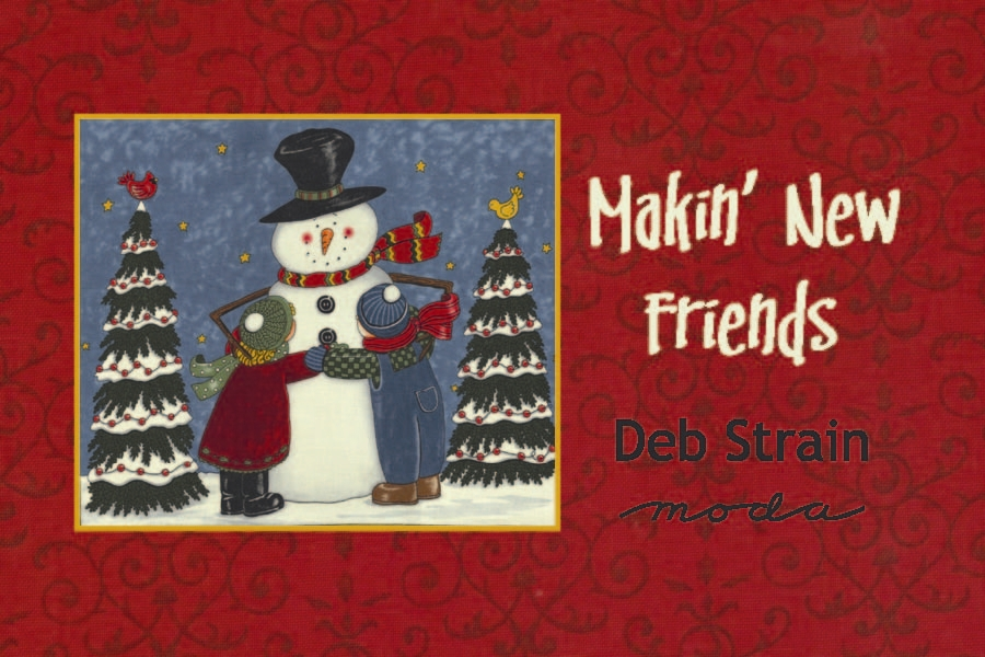 Makin New Friends Moda Quilt Fabrics
