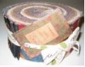 Cotton quilting fabrics and jelly rolls