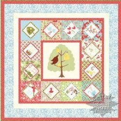 Moda quilt fabric 12 days of christmas
