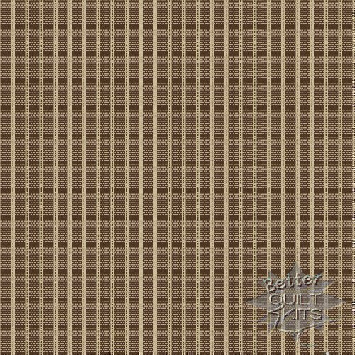 Windham Fabrics - Windham Stripe - Brown - Click Image to Close