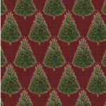Baum-Windham Fabrics Williamsburg Holiday Heritage Red
