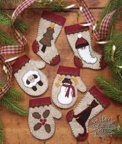 Christmas Woolens Ornament Kit