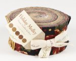 Moda Fabric - Holiday Medley Jelly Roll 9360JR