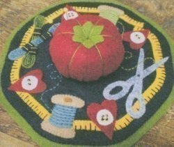 Bareroots Little Stitchies Sewing Mat Kit