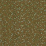Moda Fabric- Kashmir V Scroll - Brown