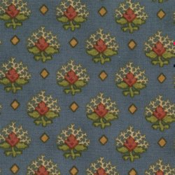Moda Stars and Coxcombs 7167-15 First Frost Blue
