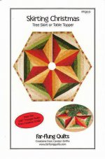 Skirting Christmas - Tree Skirt or Table Topper Pattern