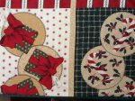 Thimbleberries Christmas Punch 7247-1 Runner Panel