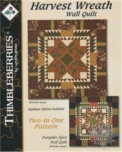 Thimbleberries Harvest Wreath Wall Quilt Pattern [LJ92414 ... : better quilt kits - Adamdwight.com