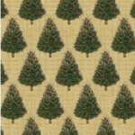 Baum-Windham Fabrics Williamsburg Holiday Heritage Ivory