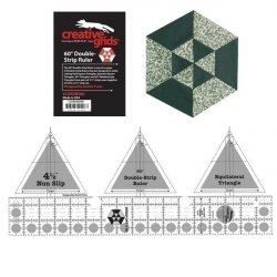 60 Degree Double-Strip Creative Grids Ruler