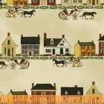 Windham Fabrics - Folk Art Village 31691-3