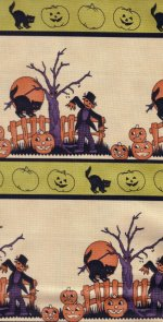 Moda Fabric- Halloween Night - 14667-17