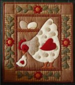 Spotty Hen Wall Quilt