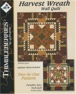 Thimbleberries Harvest Wreath Wall Quilt Pattern