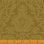 Baum-Windham Fabrics Williamsburg Holiday Heritage Gold 29709-5