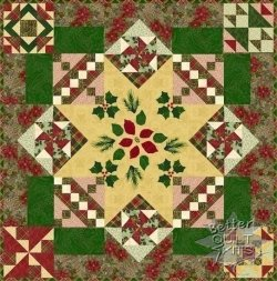 Christmas Peace Quilt Kit