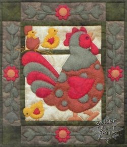 Spotty Rooster Kit Spotty Rooster Kit [K0412-KIT] : Better Quilt ... : better quilt kits - Adamdwight.com