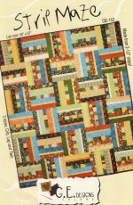 Strip Maze Thimbleberries Fabric Quilt Kit