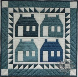 Houses - Wall Quilt Kit