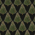 Baum-Windham Fabrics Williamsburg Holiday Heritage Black
