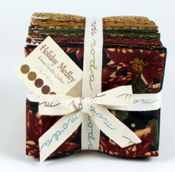 Moda Fabric - Holiday Medley Fat Quarter Bundle 9360AB