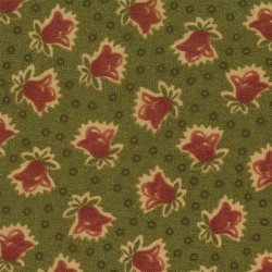 Moda Stars and Coxcombs 7166-12 Between Spring and Fall Green