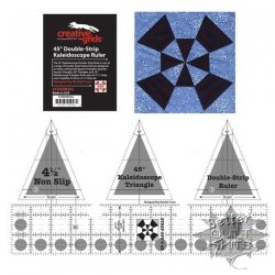 45 Degree Kaleidoscope Double-Strip Creative Grids Ruler