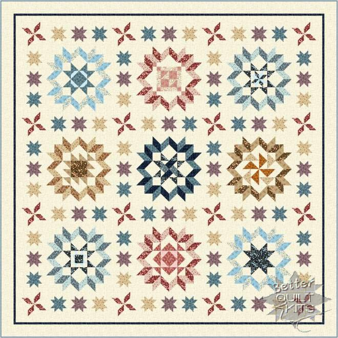 Plain & Fancy Quilt Kit - Click Image to Close