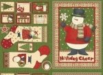 Debbie Mumm Ho-Ho-Holiday - Stockings and Tags