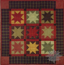 Homespun Stars Quilt Kit