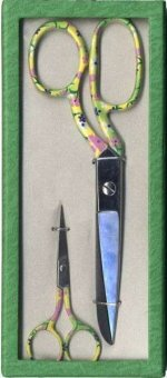 Scissor Gift Set 2pc Green Floral