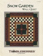 Thimbleberries Christmas Snow Garden Wall Quilt Pattern
