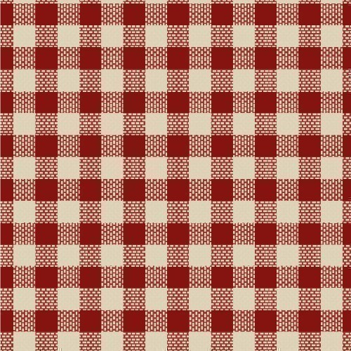 Windham Fabrics - Gingham - Red - Click Image to Close