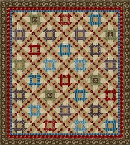 Civil War Era Quilt Kit
