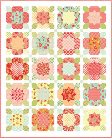 Flower Girl - Marmalade Quilt Kit