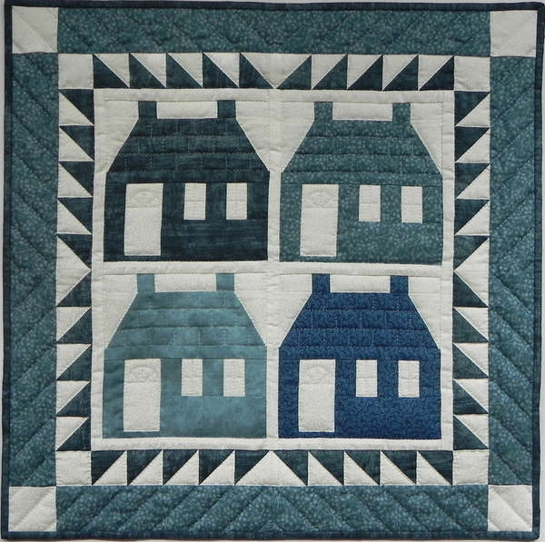 Houses - Wall Quilt Kit - Click Image to Close