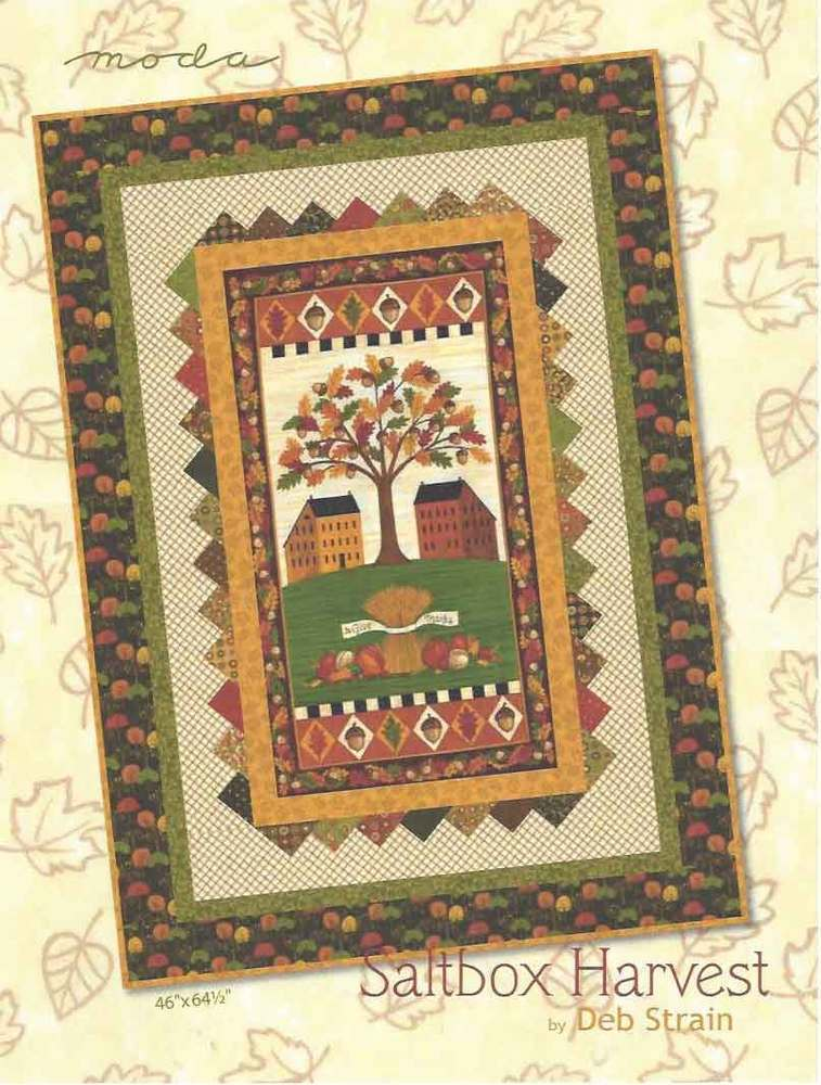 Salt Box Harvest Quilt Kit - #19430