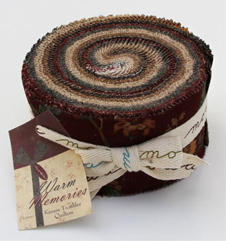 Moda Fabric- Warm Memories Jelly Roll