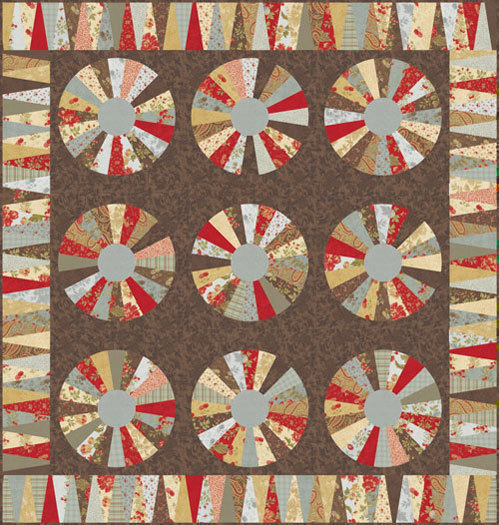 Double Chocolat Quilt Kit